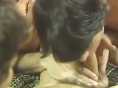 Two Guys Make Love on Ugly Couch