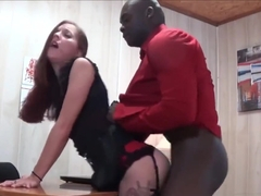 Wife fucks her boss and makes me clean her up