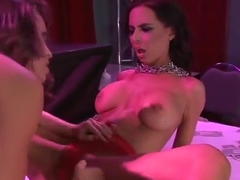 Sex Toy porn video featuring Abigail Mac and Brandy Aniston