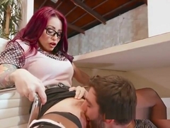 Sexy Librarian Monique Alexander Has Her Pussy Licked