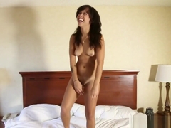 Brown Sweety Mia Austin Takes White Cock