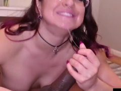 Hot White Cracker Gia Love Gets Black Bull Cock Rome Major!