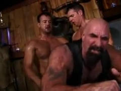 Muscle gay gets fucked hard
