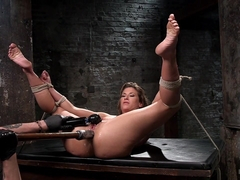 Ariel X & The Pope in Ariel X - Extreme Bondage, Brutal Torment, And Squirting Orgasms - HogTied