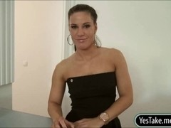 Awesome boobs Czech girl Athina Love fucked for money