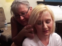 Sister Sucking StepBrothers Cock busted by horny StepMom