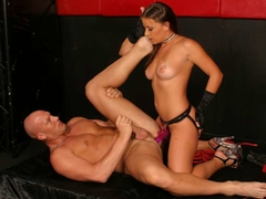 Penny Flame Punishing Her Slave Just As She Pleases - Upox