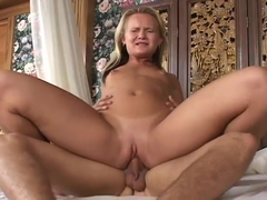 Cute Girl Katie Gold Gets Stuffed Then Jizzed On