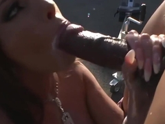 Romanian Bombshell Donna Bell Analyzed By Black Boner