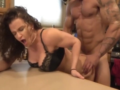 Hard Bodied Milf With Big Tits Fucked By Bodybuilder!
