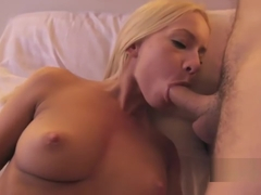 Kiara Lord masturbating while sucking fat cock