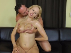 Mistress Angel Wicky rental inspection and titfucking