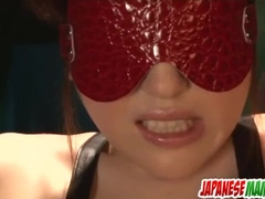Nagisa Uematsu fucked with toys in severe modes - More at Japanesemamas.com