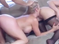 Lucky Guy Fucks Babysitter Abby Cross And His Wife Alexis Fawx