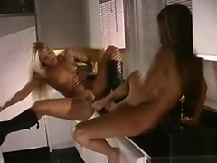 Excellent sex video Lesbian crazy , take a look
