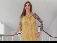 My Tattooed Mom Takes Anal Creampie from My Best Friend