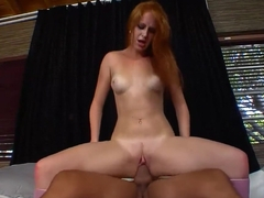 Fabulous pornstar Amber Swift in best redhead, college adult video