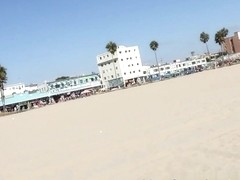 Mandy Armani & Ariana Grand in Venice Beach Pickup Video