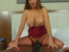 Hot Wife Rio BBC fuck in front of her husband