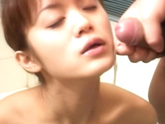 Ryou Hosi sucks cock like wild!