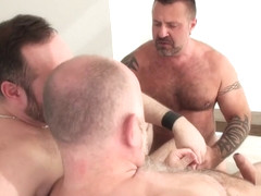 Guy English, Marc Angelo, and Joe Hardness - BearFilms