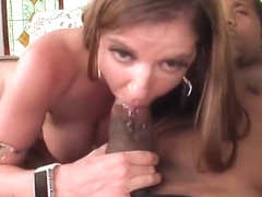 Kaylynn Kage sucking some huge black part2
