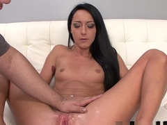 Crazy pornstar Sabrina Banks in Exotic Fingering, Handjobs sex scene