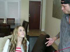 Briana OShea in Fucking The Cable Guy