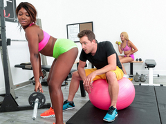 Skyler Nicole & Van Wylde in Pump Her Rump - RoundandBrown