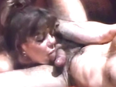 Karen Summers vintage fuck in the bathroom