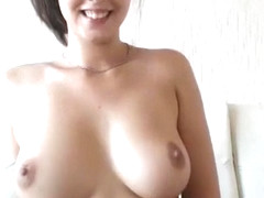 Gorgeous with sexy armpit showing cum creampie on cam