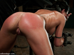 Micah Moore in Micah Moore Bound, oiled, what an ass! - DeviceBondage