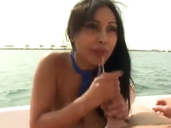 Brunette porn video featuring Charles Dera and Priya Anjali Rai