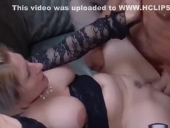 Skank screwed in orgy