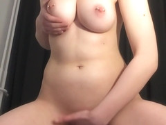 Cute Teen Slut gets Caught Masturbating by her roomate