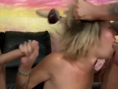 Sasha Sweet stripped for mouth fucking