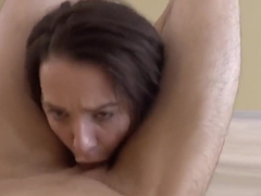 Cute Teen Mischelle Klein Loves Hard Anal Gape