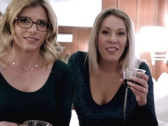 Arranged Threesome with my Busty Step Mom and Aunt Cory - Nikki Brooks