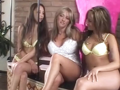 Hottest pornstars August Night, Sindee Coxx and Alexis Love in crazy blonde, latina adult movie