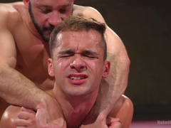 Max Woods & Dylan Strokes in Hot Newcomer Max Woods Takes On Undefeated Dylan Strokes - NakedKombat