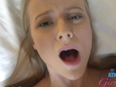 Paris White in Virtual Vacation Movie - ATKGirlfriends