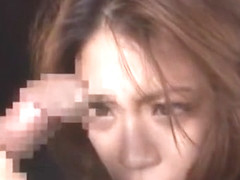 Incredible Japanese chick Mako Oda in Horny Cunnilingus, Stockings JAV scene