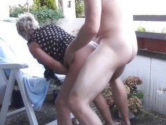 Ramming an Old Skank is Better Than Gardening