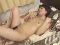 Hottest Japanese girl Riona Minami, Risa Sanada in Amazing Hairy, Small Tits JAV movie