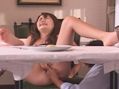Fabulous Japanese girl Rio Kitajima in Horny Threesome, Public JAV video