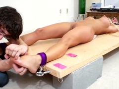Tickling - Nikki Masters Gets Tickled for Sixty Minutes Straight Part Two