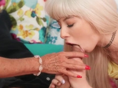 18 Year Old Teen Gets Fucked By Her Stepgrandpa Steve Holmes