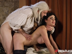 Ella Hughes &  Olive Glass & Danny D in The Bewitcher: A DP XXX Parody Episode 4 - DigitalPlaygrou.