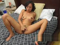 annie cruz loves to show off her tight pussy