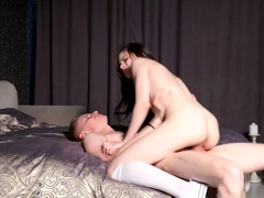 Young Courtesans - Molly Brown - Hot courtesan enjoys cock play